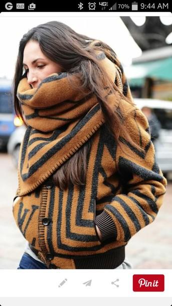 coat wrap jacket cozy jacket winter coat