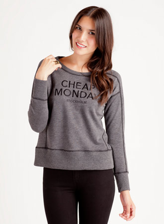 Cheap Monday Naomi Sweater Charcoal