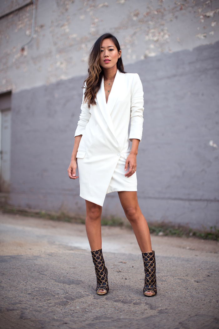 Blazer Dress | Song of Style