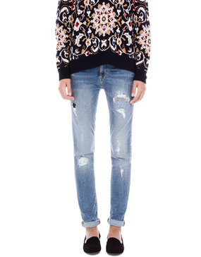RIPPED BOYFRIEND JEANS - TEEN GIRLS COLLECTIONS - WOMAN -  PULL&BEAR United Kingdom