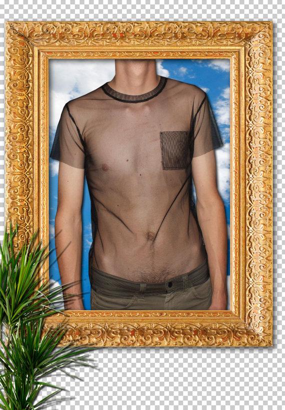 90s goth unisex black mesh Tshirt by SLUTMART on Etsy