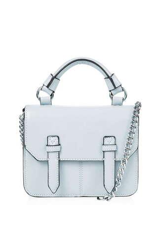 bag satchel small bag purse light blue satchel bag chain bag our favorite accessories 2015