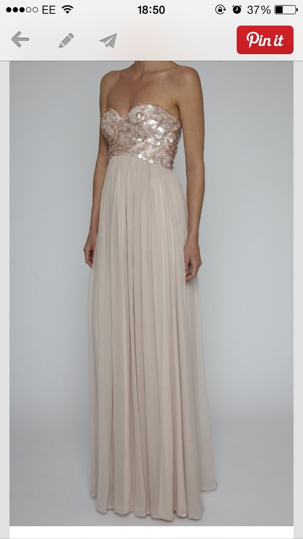 dress long prom dress strapless prom dress pink prom dress