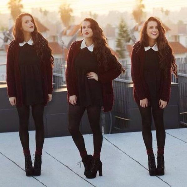 dress jacket coat shoes sweater