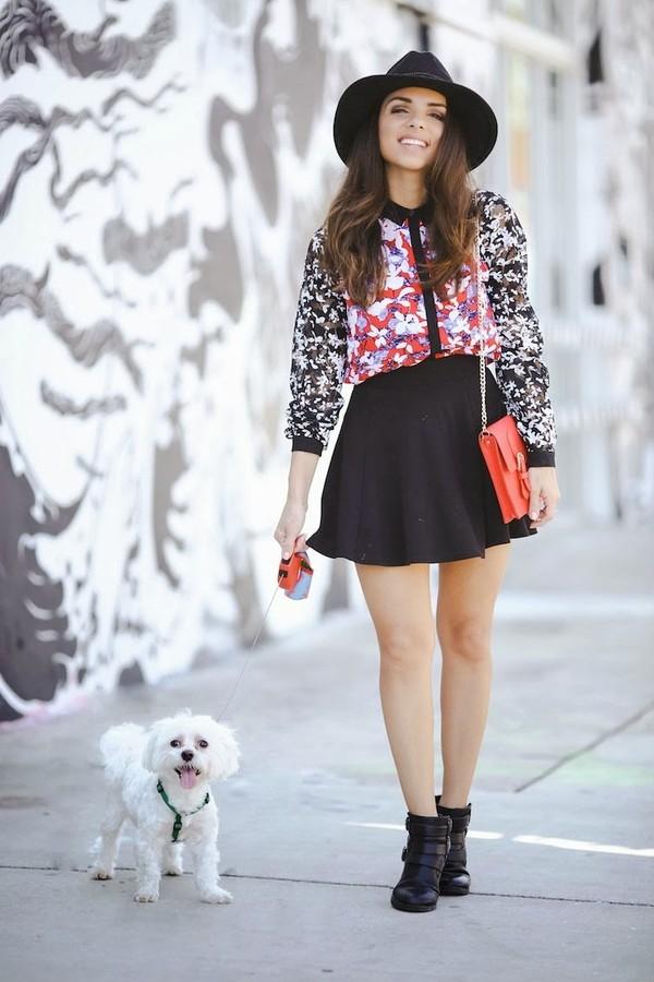 nany's klozet blouse skirt hat shoes bag