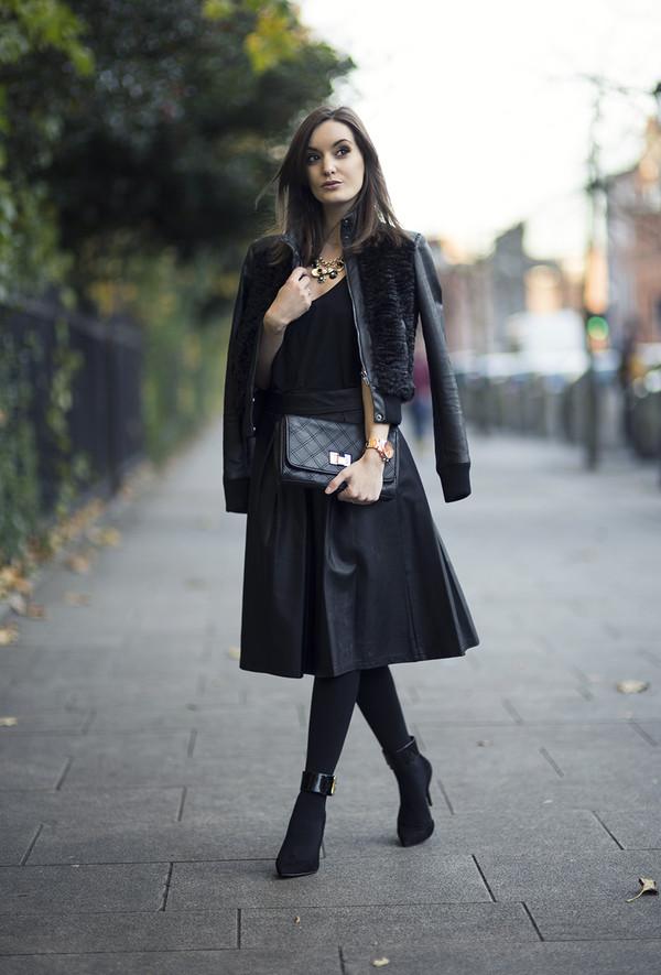 anouska proetta brandon jacket bag skirt shoes jewels