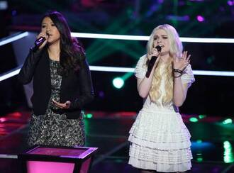 dress white holly henry the voice