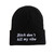 BITCH DON'T KILL MY VIBE BEANIE – HolyPink