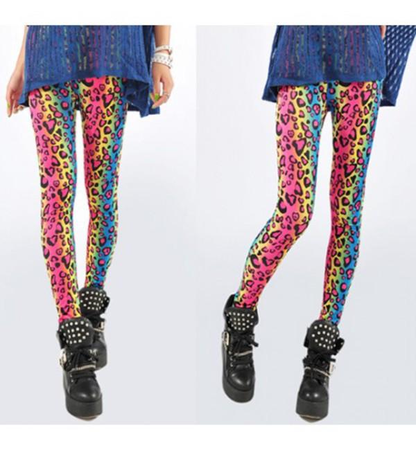 leggings multicolour leggings