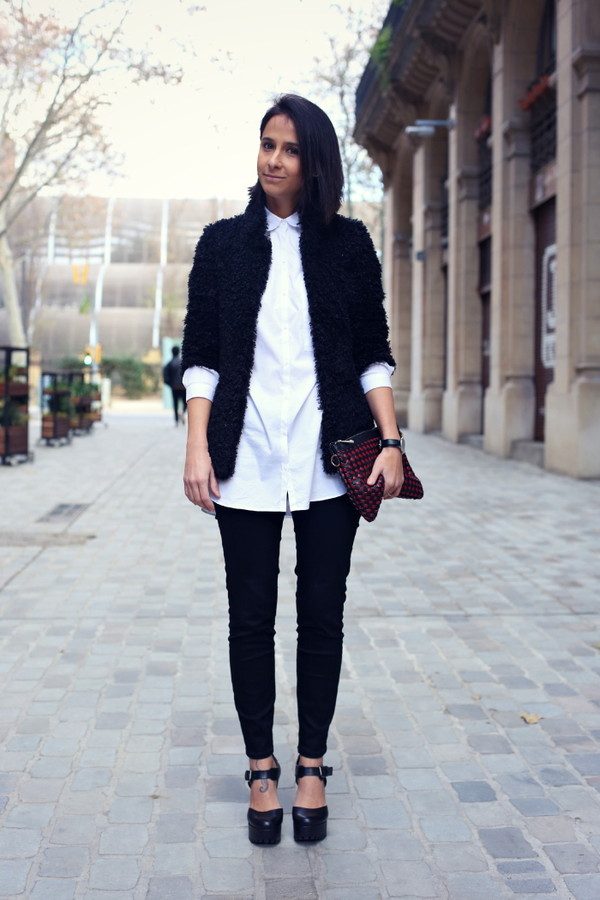 style in lima coat shirt pants bag shoes jewels