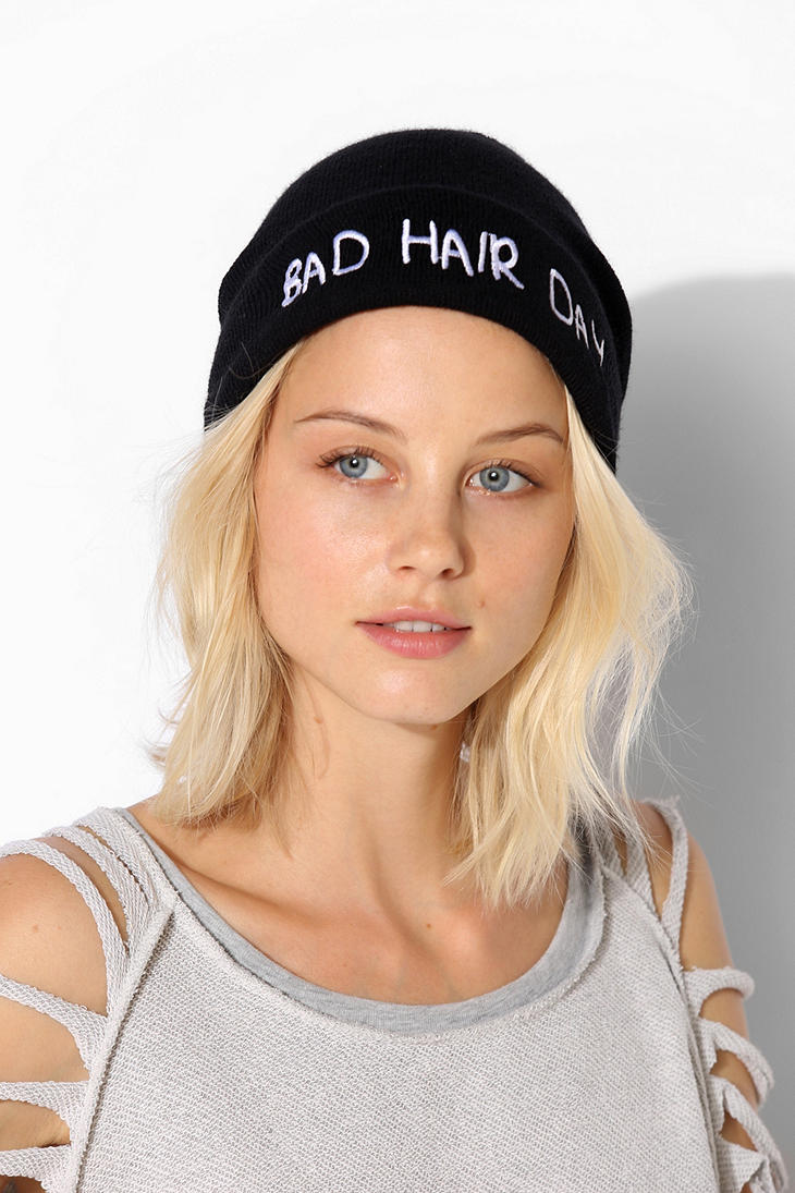 Local Heroes Bad Hair Day Beanie - Urban Outfitters