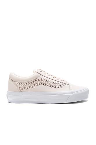 weave blush shoes