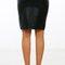 Pleather pencil skirt