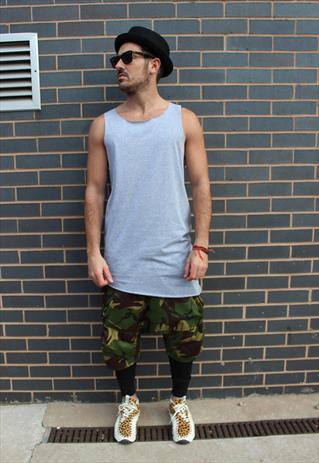 Low crotch camo shorts | Ricky Simpson | ASOS Marketplace