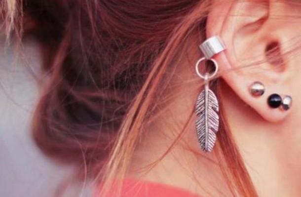 jewels feathers jewelry