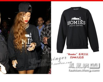 2014 fashion homies long Hoodies same paragraph sweater men and women couple models Sweatshirt-in Hoodies & Sweatshirts from Apparel & Accessories on Aliexpress.com