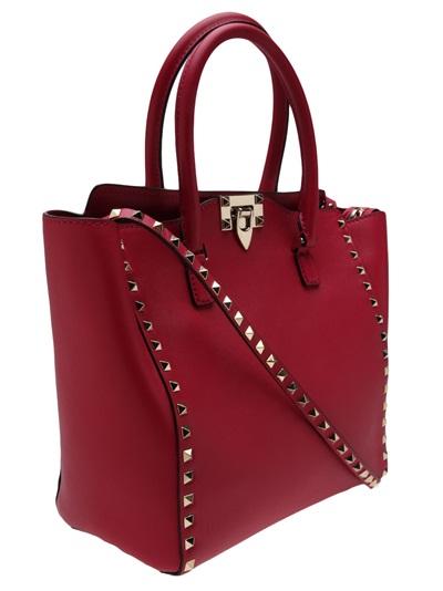 Valentino Garavani Rock Studded Shopper Tote - Marissa Collections - Farfetch.com