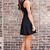 Bow Tie Affair Dress - Black on Wanelo
