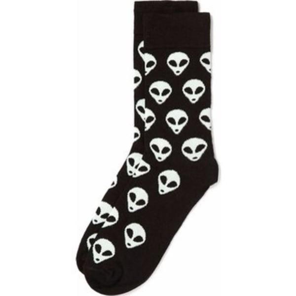 shoes black ufo