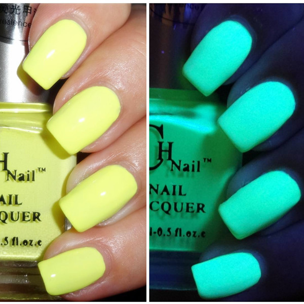 $4.99 15ml Glow in UV/ LED Light Fluorescent Neon Nail Art Polish #16 - BornPrettyStore.com