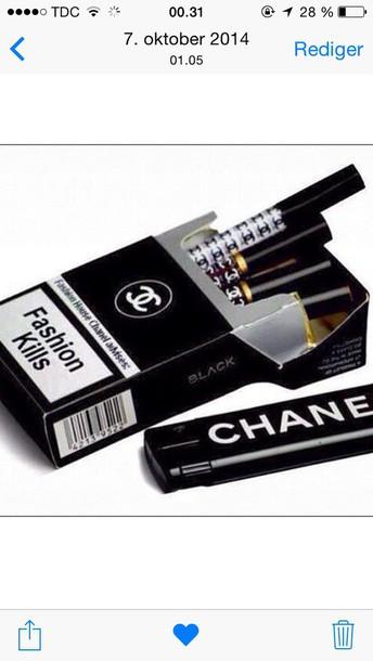 cigarette fashion chanel