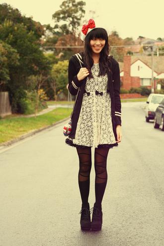 black dress dress white dress kani lace
