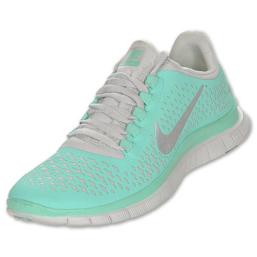 Women's Nike Free 3.0 V4 Running Shoes  FinishLine.com   Tropical Twist/Reflect Silver/Pure Plat
