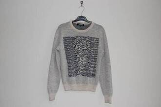 oversized sweater joy division