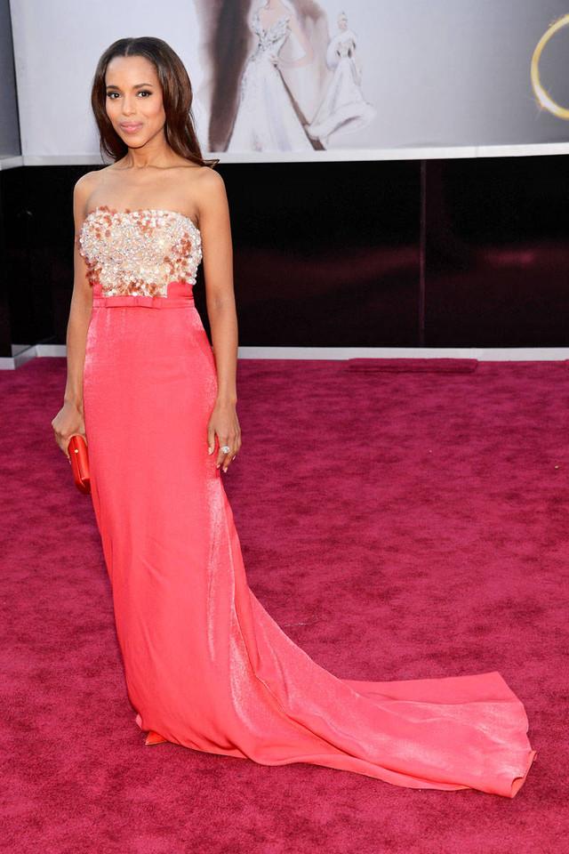 15 Long Elegant Red Carpet Dresses From Oscars Gone By ...