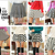FREE SHIPPING 2014 spring women high waist slim hip slim bust skirt houndstooth expansion bottom short skirt puff skirt 7Color-inSkirts from Apparel & Accessories on Aliexpress.com