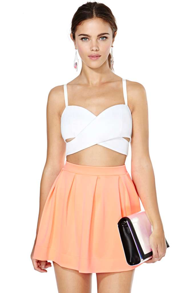 Scuba Skater Skirt | Shop Clothes at Nasty Gal