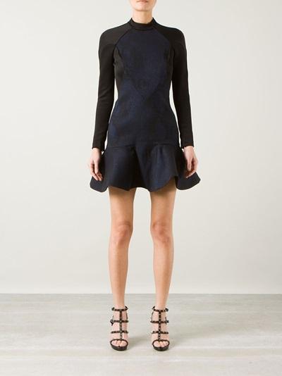 Stella Mccartney Peplum Hem Dress - Montaigne Market - Farfetch.com