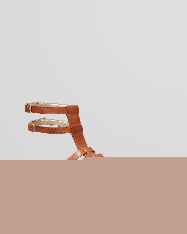Sam Edelman Gladiator Sandals - Gilda Flat   Bloomingdale's