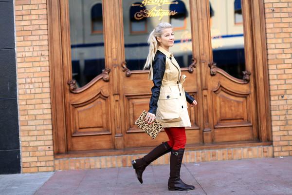 evelinas fashion cafe coat shoes bag pants t-shirt