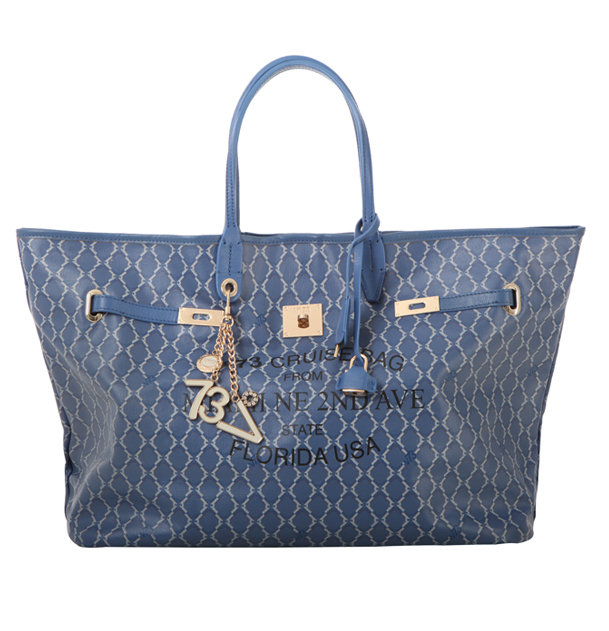 MIAMI BAG BIG BLU - V73 Bags and Accessories Woman