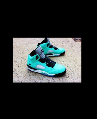 shoes jordan's blue tiffany