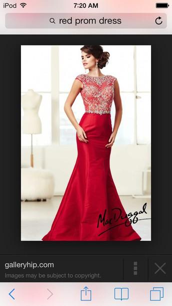 dress prom dress red dress red prom dress