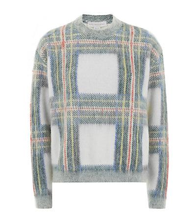 Stella McCartney Tartan Crew Neck Sweater | Harrods