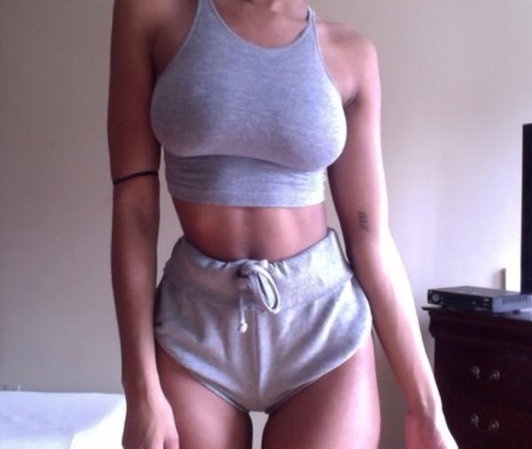 shorts tank top