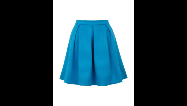 skirt yumi textured skater skirt