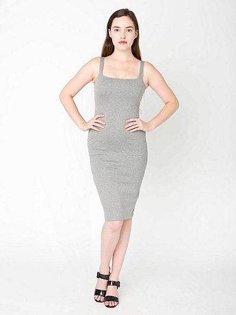 Ponte Tank Dress | American Apparel