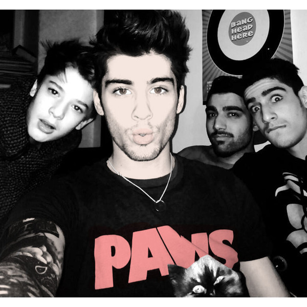 t-shirt paws paws tee cats zayn malik one direction liam payne harry styles louis tomlinson