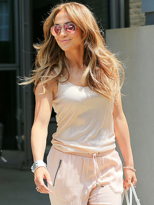 top jennifer lopez sunglasses pants