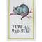 Mrs moore multicolour cheshire cat cotton tea towel | home | liberty.co.uk