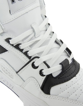 Pony | Pony M100 White High Top Trainers at ASOS