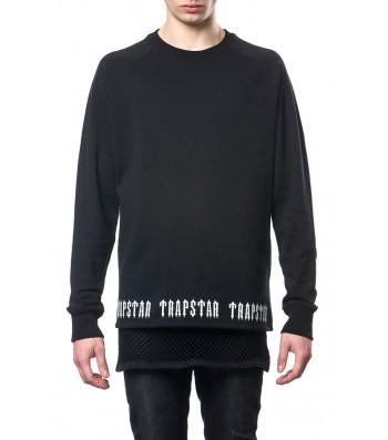 Irongate base sweater (black) - Sweatshirts  | Trapstar