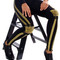 Spiked gold knee leggings – eyeivfashion