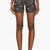 roseanna navy jacquard denim shorts