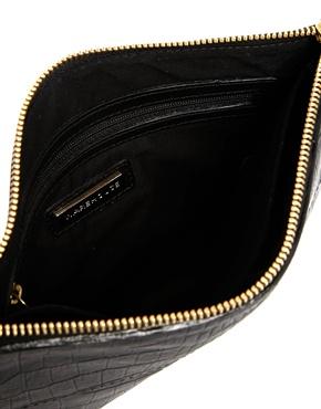 Warehouse | Warehouse Flat Leather Envelope Bag at ASOS