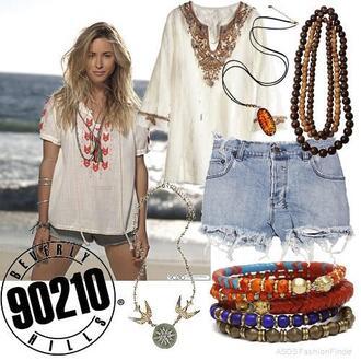 jewels beach 90210 ivy 90210 ivy boho indie prayer beads bangle